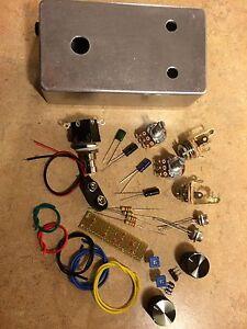 fuzz face joe bonamassa guitar gear workshop diy pedal kit germanium. Black Bedroom Furniture Sets. Home Design Ideas