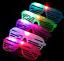 15 PCS LED Glasses Shutter Sunglasses Light Up Shades Flashing Rave Wedding EDC