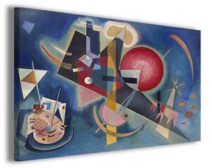 Quadro Wassily Kandinsky vol VIII Quadri famosi Stampe su tela ...