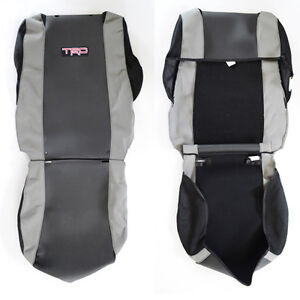 New oem toyota tacoma 2005 2008 trd seat covers sport seats ebay image is loading new oem toyota tacoma 2005 2008 trd seat publicscrutiny Images