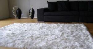 Baby-Alpaca-Rug-White-Made-on-Baby-Suri-Alpaca-Home-amp-Decor-Different-Sizes
