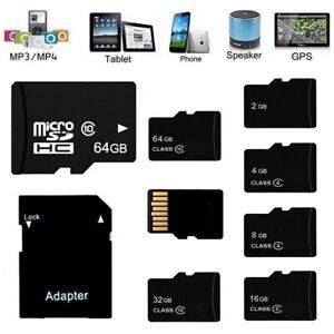 2GB-4GB-8GB-16GB-32GB-64GB-Micro-SD-TF-Flash-Memory-Card-High-Speed-W-Adapter