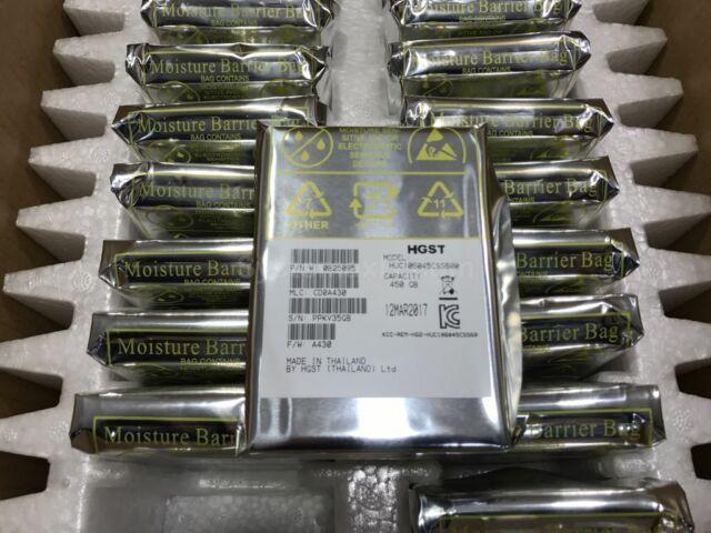 """0B25095 - 20x HGST Ultrastar 450GB 10K 2.5"""" SFF 64MB Cache SAS 6Gb/s Hard Drive"""