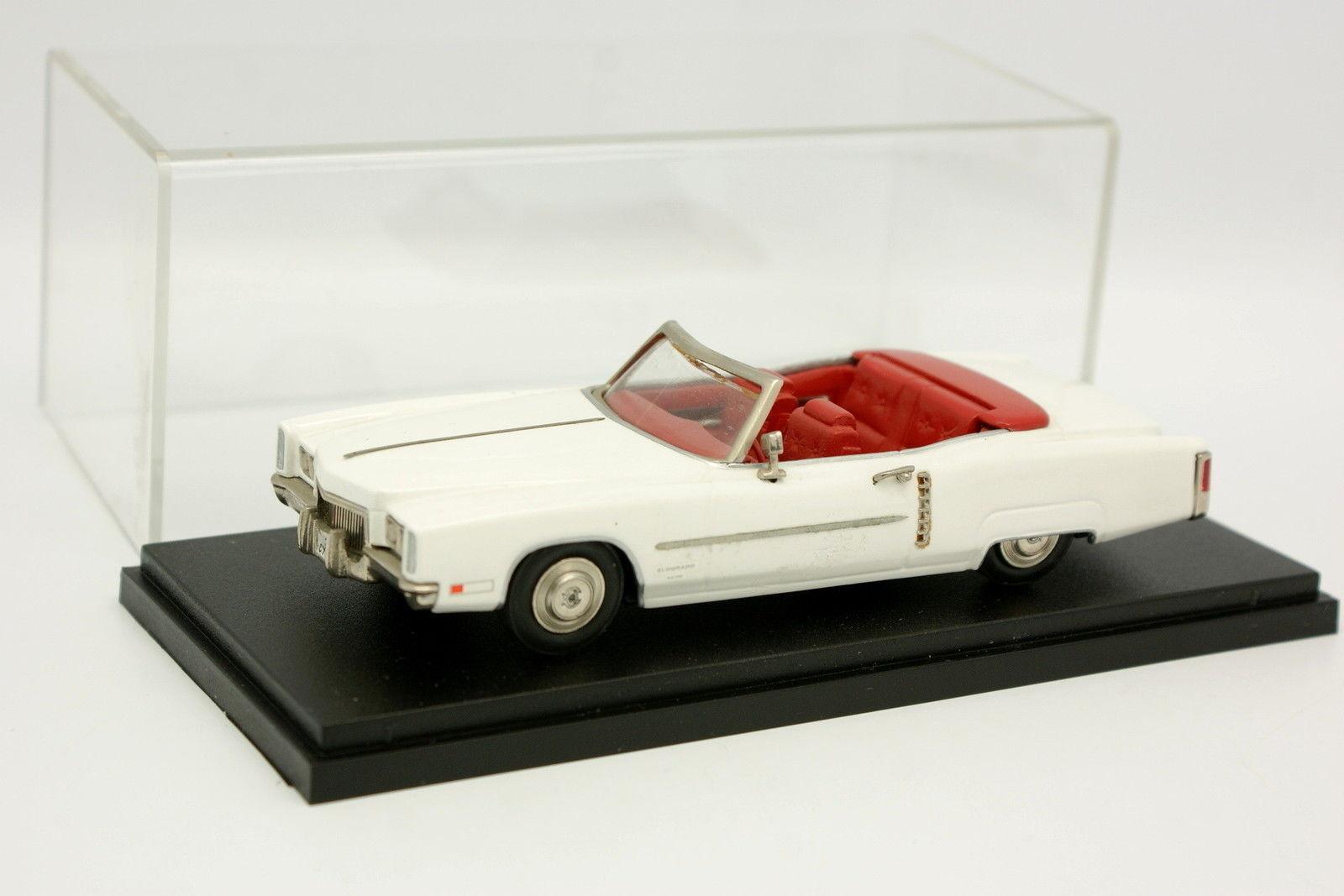 AMR Kit Montado 1 43 - Cadillac El dorado biancao