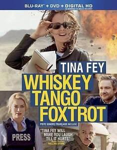 Whiskey Tango Foxtrot (Blu-ray/DVD, 2016, 2-Disc Set Canadian) New W/ Slip Cover