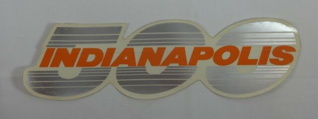 Indianapolis 500 Collector Event Auto Decal Pace Car Safety Truck