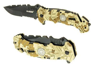 Salvataggio Coltello Turistico Kandar Hf721 Nr036 Survival Knife To Produce An Effect Toward Clear Vision
