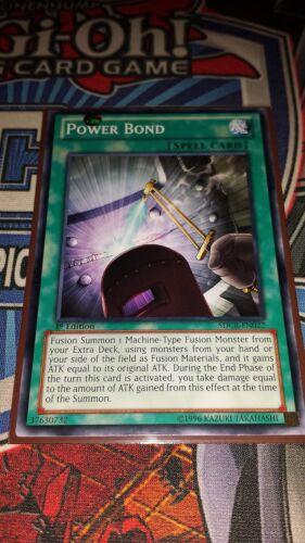Power Bond Common SDCR-EN022 M//NM Yugioh 1st