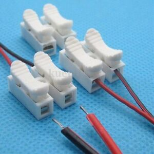 1-20pcs-2P-Spring-Connector-Wire-Clamp-Terminal-Block-No-Welding-For-LED-Strip