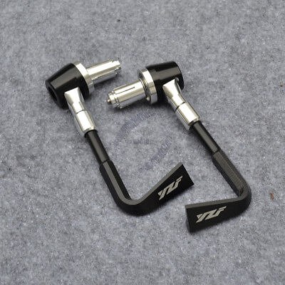 """CNC 7//8/"""" Clutch//Brake Lever Protectors Fit For Yamaha YZF R1 R6 R3 R8 R25 22mm"""