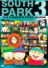 South Park - The Complete Third Season (DVD, 2003, 3-Disc Set)