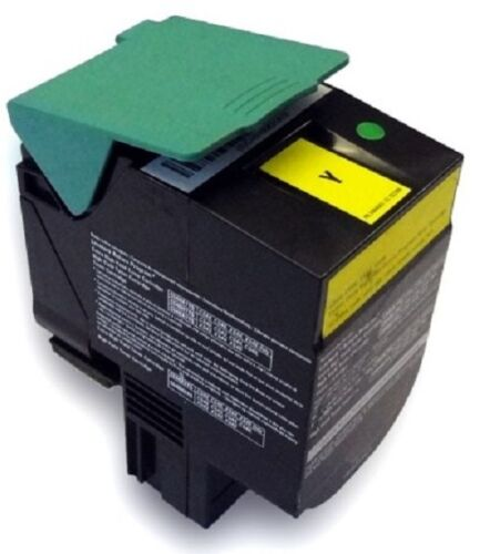Lexmark C544X1YG Yellow Toner Cartridge Extra High Yield 4K C544 C546