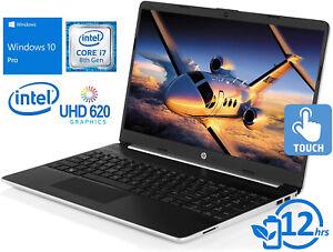 NEW-HP-15-6-HD-TOUCH-Intel-i7-8565U-4-6GHz-8GB-RAM-256GB-SSD-Mic-Webcam-Win10PRO