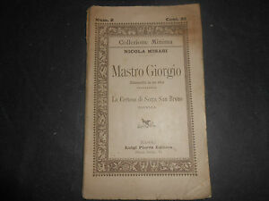 1891-NICOLA-MISASI-MASTRO-GIORGIO-NAPOLI-LUIGI-PIERRO-EDITORE-1-EDIZIONE-TEATRO