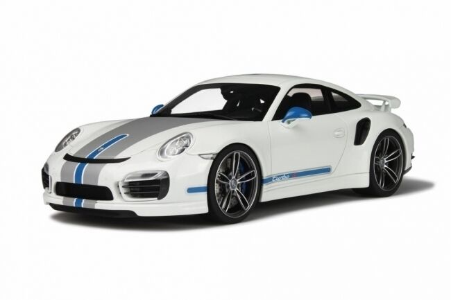 Porsche 911 991 turbo s techart-Blanc - 1 18 GT spirit 049