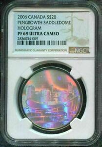 2006-CANADA-20-PENGROWTH-SADDLEDOME-NGC-PF69-UC-w-BOX-SILVER-COIN