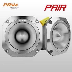 "2x PRV Audio TW700Ti-CR Bullet 4"" Pro Tweeter 8 ohm Titanium Car Stereo 480W"