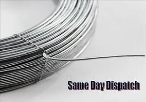 Forte fil métallique galvanisé Heavy Duty métal escrime Crafts Outdoor différentes longueurs  </span>