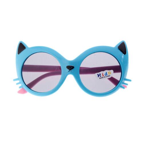 Girls Boy 5 Colors Cartoon Cat Anti UV400 Eyeglasses Toddler Baby Sunglasses  XJ