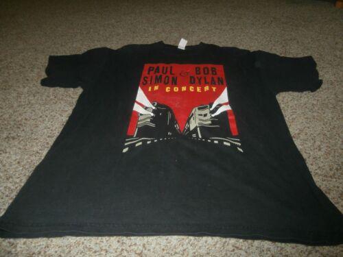 Bob Dylan Paul Simon '99 Vintage Concert T-Shirt S