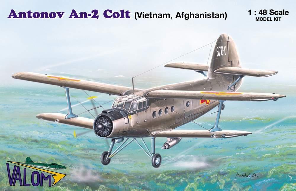 Antonov An-2 Colt in North Vietnam, Afghanistan (1 48 model kit Valom 48006)
