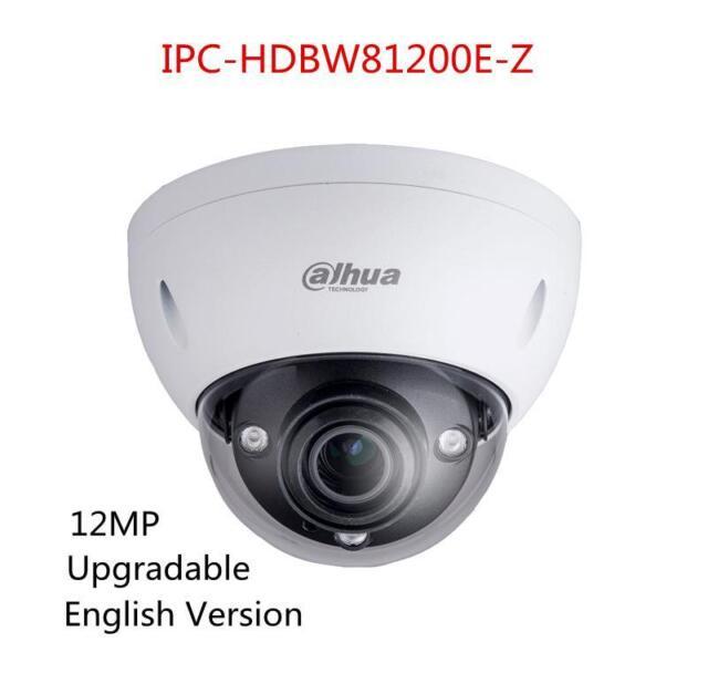 Dahua IPC-HDBW81200E-Z 12MP Ultra HD POE IR IP67 POE Dome Camera Upgradable