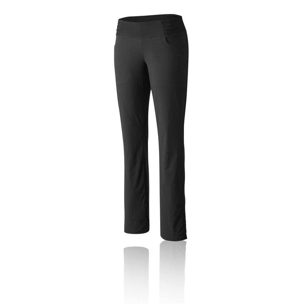 Mountain Hardwear Dynama para Mujer Negro Resistente al Agua Senderismo Pantalones Largos Pantalones
