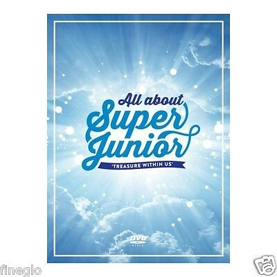 SUPER JUNIOR - All about Super Junior TREASURE WITHIN US DVD (6 DVD + Postcard)