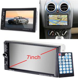 7-034-2Din-Auto-Audio-Stereo-HD-MP3-MP5-Player-FM-GPS-Navigation-mit-Fernbedienung