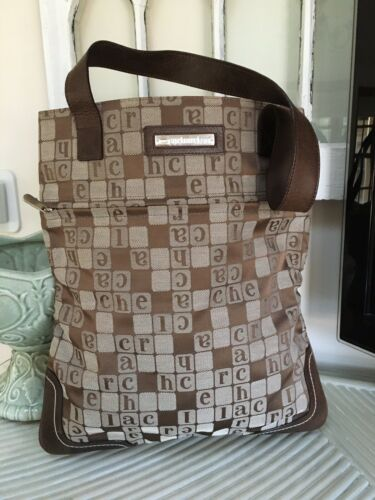 Vintage French Cacharel Tote
