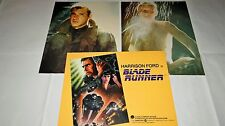 BLADE RUNNER harrison ford rare photos cinema prestige grand format lobby cards