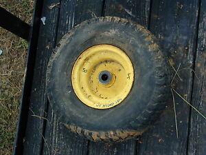 50 John Deere Riding Lawn Mower Oem Front Tire Wheel 15 X