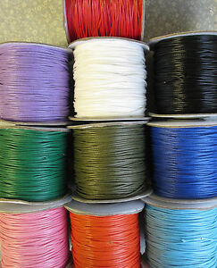 10m 1 0mm Waxed Coated Wax Cotton Cord String Jewelry