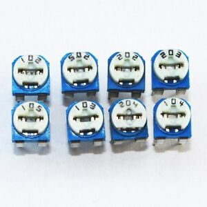 5x-8x-Sortiment-Trimmer-Trimmpoti-Auswahl-1KOhm-1M-RM065-V1-POTENTIOMETER