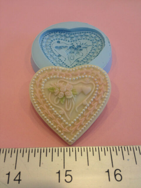 ROSE WEDDING CAKE SILICONE MOLD #157 CHOCOLATE,FONDANT,SUGARCRAFT,GUMPASTE,FAVOR