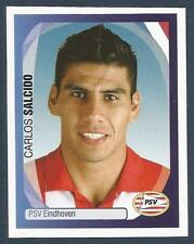 PANINI UEFA CHAMPIONS LEAGUE 2007-08- #301-PSV EINDHOVEN & MEXICO-CARLOS SALCIDO