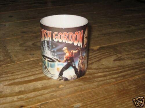 Flash Gordon 1980er jahre Folie Werbe BECHER Königin-interesse