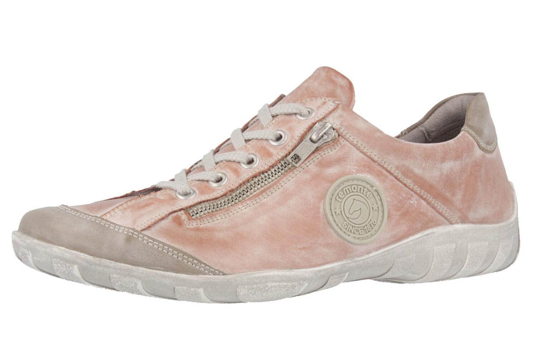 Remonte zapato bajo en talla extragrande grandes grandes grandes zapatos señora rosadododo XXL 9875fe