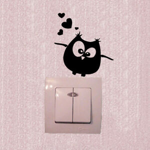Cartoon-Owl-Switch-Vinyl-Sticker-Owl-Wall-Stickers-for-Kids-Room-Home-Decor-M-RR