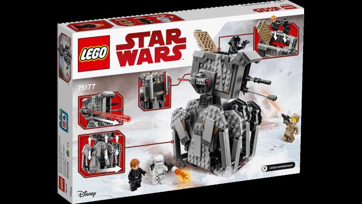 LEGO 75177 primero Order Heavy Scout Walker™  - estrella guerras 9-14anni  offrendo il 100%