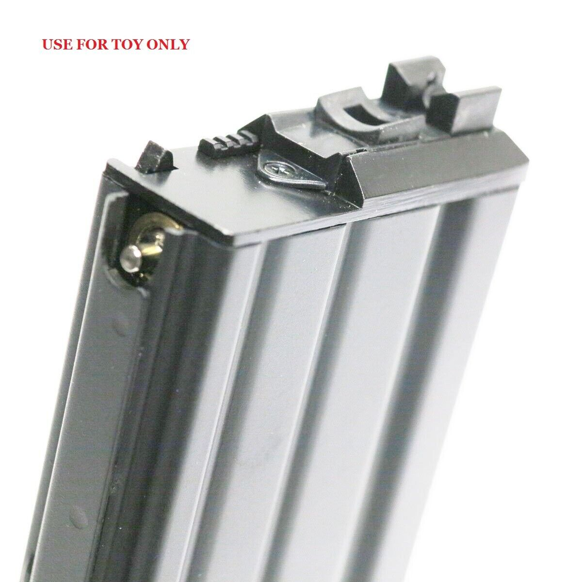 WE 30rds Open Bolt Airsoft Gas Magazine For WE SCAR   L85   M Series GBB BK