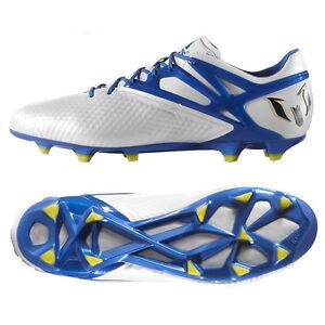 Adidas Messi Fg / Ag / B34359 Bianco / Blu / Ag Nero, Gli Uomini Di Calcio Di Primo 9d16ce