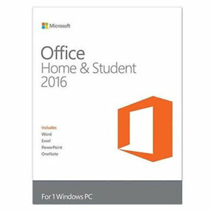ba7c3554f Microsoft Office Home   Student 2016 (License Only) (1) - Full Version for  PC