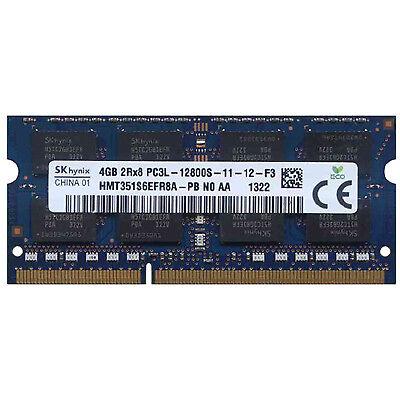 SK HMT351S6EFR8A-PB Hynix 4gb DDR3 PC3-12800 DDR3-1600 Laptop RAM