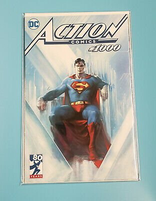 DC ACTION COMICS #1000 GABRIELE DELL'OTTO EXCLUSIVE VIRGIN BLACK /& WHITE SKETCH