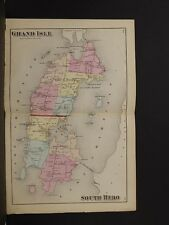 Vermont, Grand Isle County Map, 1871, Township of Grand Isle & South Hero K2#03