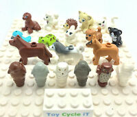 LEGO Small Animal Minifigure From - Friends Tortoise Cat Monkey Hedgehog ETC