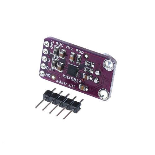 Módulo Amplificador de micrófono MAX9814 Electret AGC control automático de ganancia para ArduinoYJ