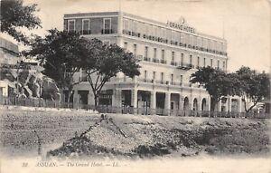 POSTCARD-EGYPT-ASSUAN-The-Grand-Hotel-LL-32