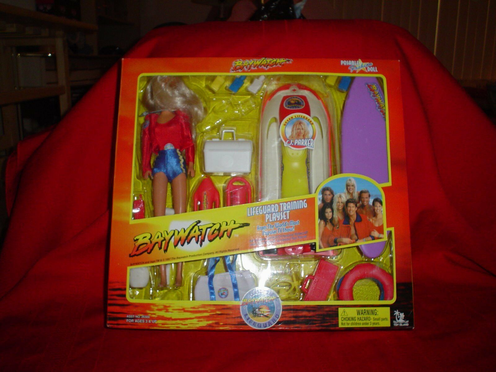 Baywatch Playsets 1997